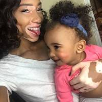 She gets to spend time with the cutest baby...