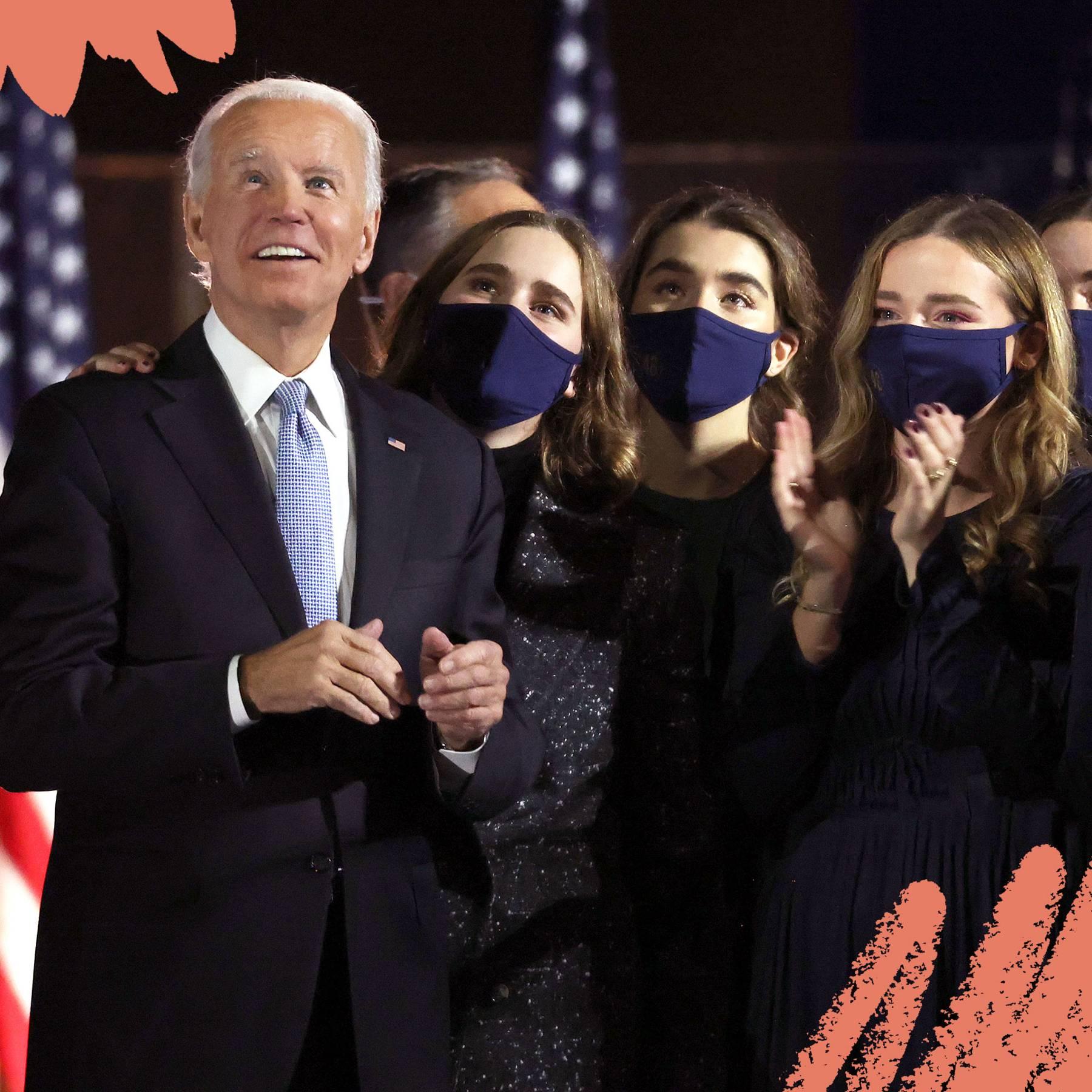 Joe Biden S Family Children Wife Grandchildren Losses Glamour Uk