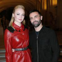Sophie Turner and Nicolas Ghesquiere