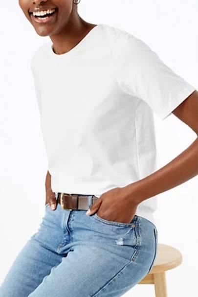 M&S White T-Shirt Ladies