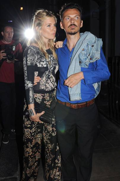 Sienna Miller & Matthew Williamson