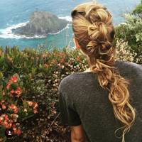 Blake Lively's excellent plait