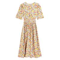 M&S x GHOST JUNE COLLECTION Collared Floral Dress