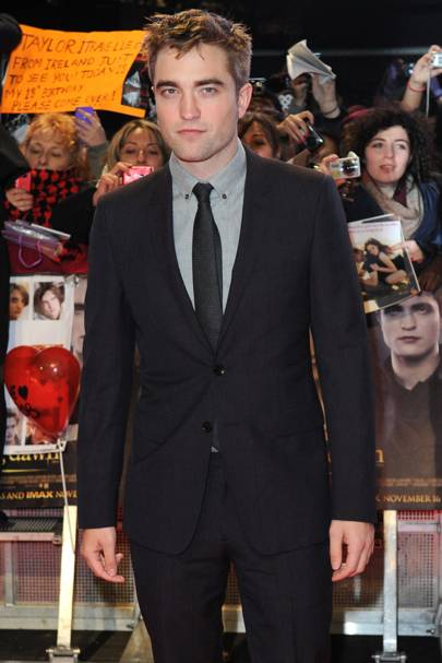 Robert Pattinson at the UK Premiere of Breaking Dawn 2