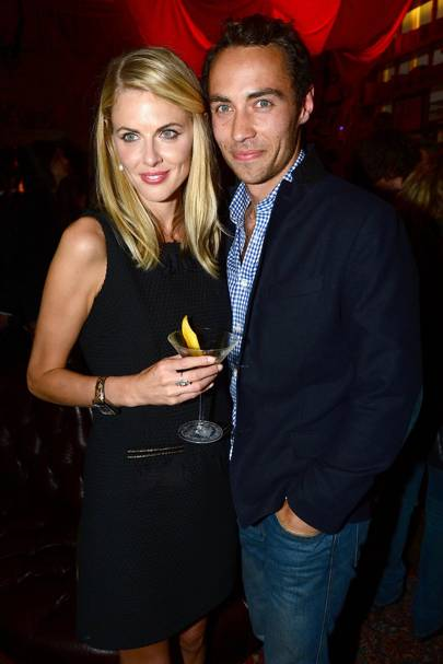 April: Donna Air & James Middleton