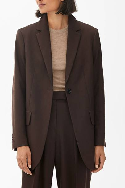 Best brown blazer