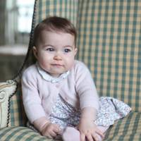 Princess Charlotte turns six months