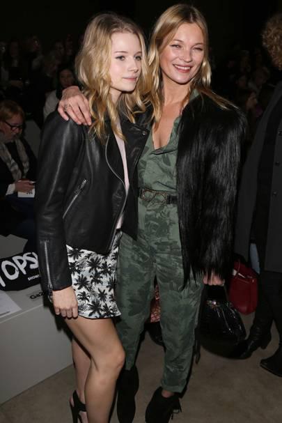 Lottie Moss And Kate Moss Lottie Moss; Kate Moss...