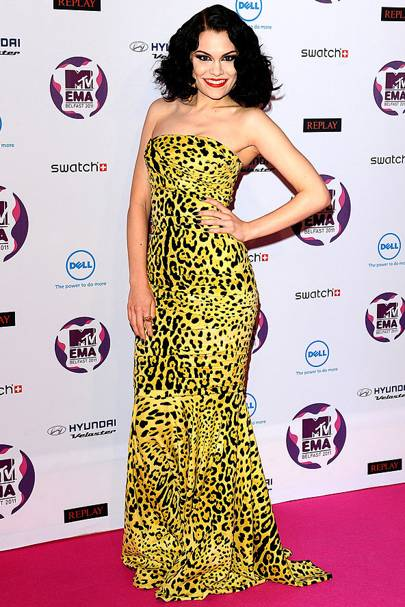Jessie J at the MTV EMAs 2011