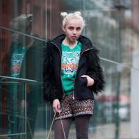 Erika Janavi, Fashion and Textiles Student