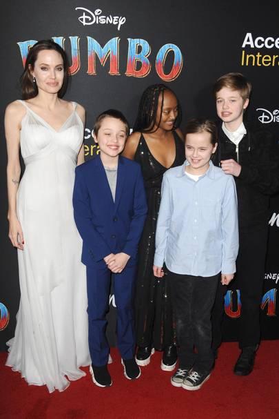 Vivienne & Knox Jolie-Pitt