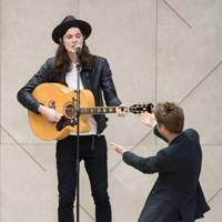 James Bay and Christopher Bailey