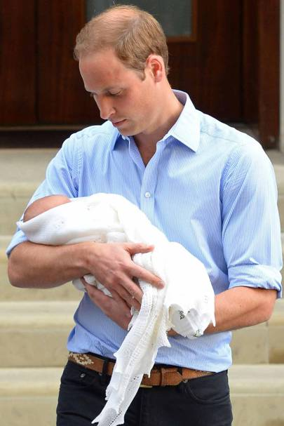 Prince George is born, 2013