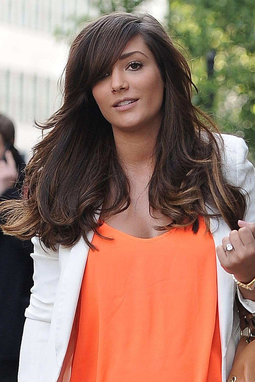 The Saturdays Hair Makeup Frankie Sandford Hair Glamour Uk