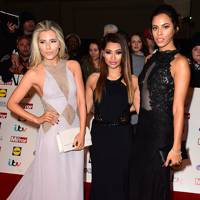 Mollie King, Vanessa White and Rochelle Humes