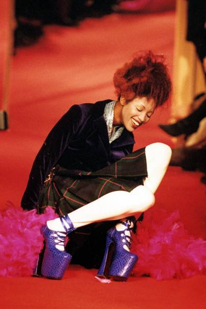 The Vivienne Westwood platforms that nearly broke Naomi Campbell