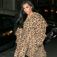 Kim Kardashian in Azzedine Alaïa