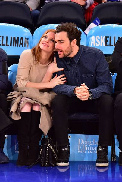 Jessica Chastain & Gian Luca Passi