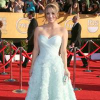 Kaley Cuoco at the SAGs 2012