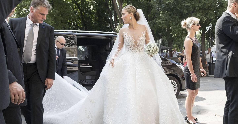 Victoria Swarovski's Wedding Pictures | Glamour UK  Victoria Swarov...