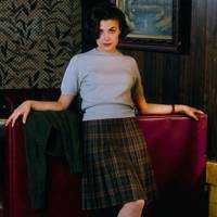 Audrey Horne's pleated skirt