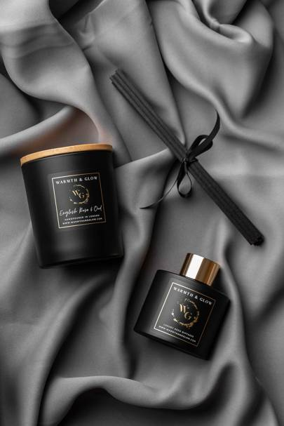 Luxury Home Fragrance Collection by Warmth & Glow