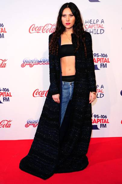 Eliza Doolittle at the Capital FM Jingle Bell Ball