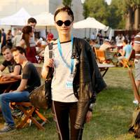 Cara Delevingne at the Barclaycard British Summer Timer Concert