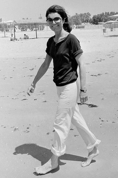Celebrity fashion and style icon: Jackie Kennedy Onassis   Glamour UK