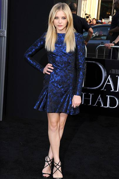 DO #3: Chloe Moretz at the Dark Shadows LA premiere, May