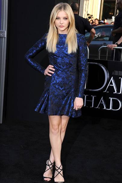 DO #3: Chloe Moretz at the Dark Shadows LA premiere, May
