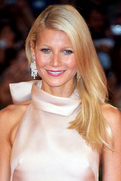 DO #17: Gwyneth Paltrow's side-swept golden locks - September