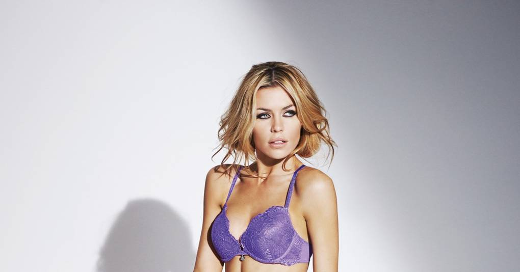 7238228972 Abbey Clancy   Ultimo underwear collection - Pictures - Modelling pictures  - Fashion News