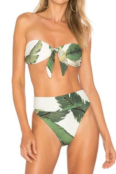 77f4c5d0997 X Revolve Sophie Bikini Top, £101, Beach Riot X Revolve Highway Bikini  Bottom, £110, Beach Riot