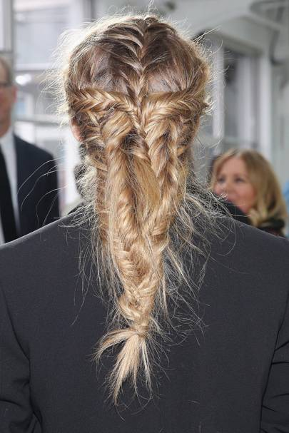 Olivia Palermo's epic braid