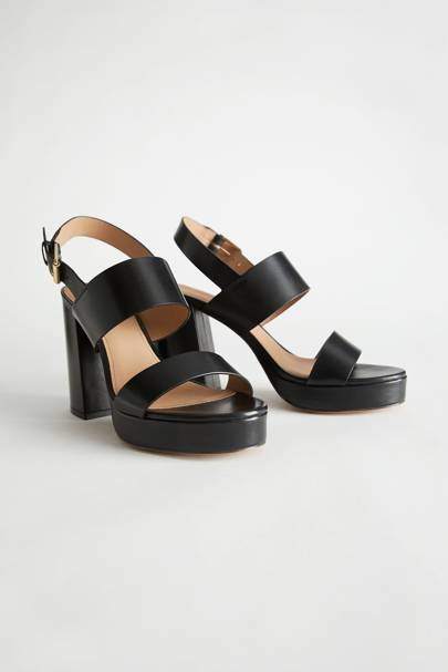 Best & Other Stories sandals in the sale
