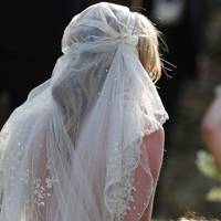Kate Moss' wedding veil