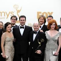 Mad Men cast at the Emmys