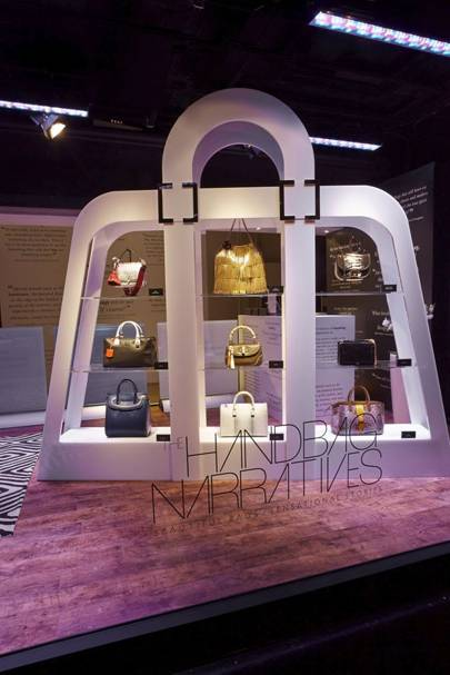 Until 24 August Twenty Designers Will Be Showcasing Their Accessories In Decadent Window Displays Each With Own Narrative Revealing The Stories