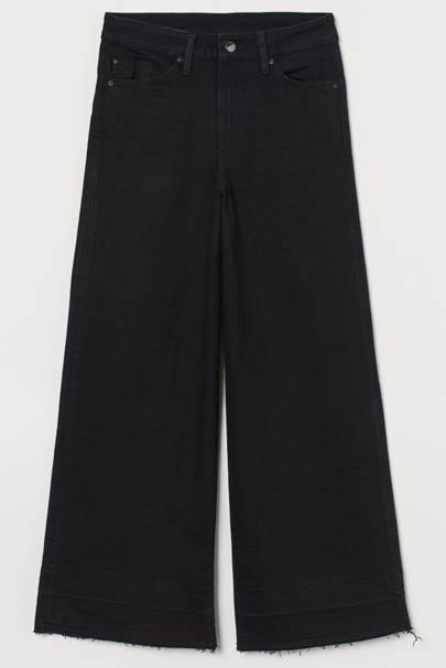 Best Black Jeans - Culotte Length