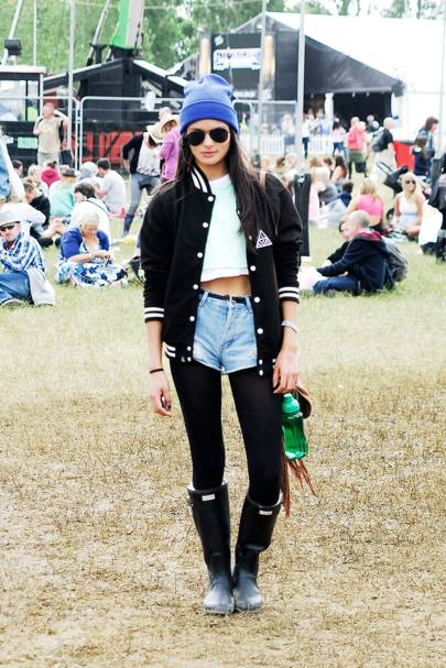 Lucie Notha, Model, Isle of Wight Festival