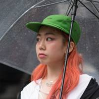 6. Neon hair