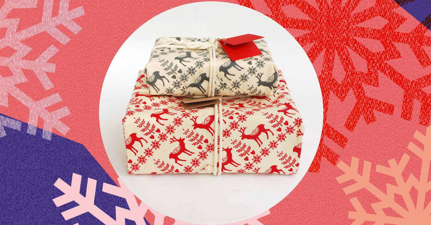 recycle christmas wrapping paper uk