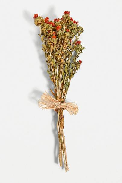 Dried flowers: the delicate bouquet