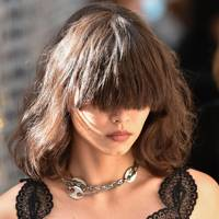 Ginormo fringes at Paco Rabanne
