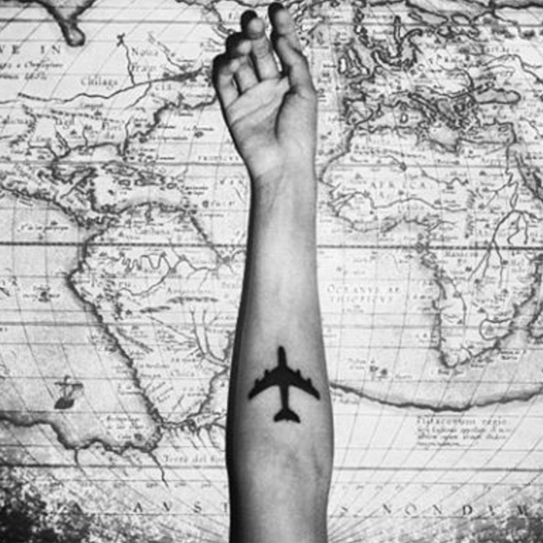 c3f5cc6c9 Best travel tattoos - tattoo design ideas if you love travelling | Glamour  UK