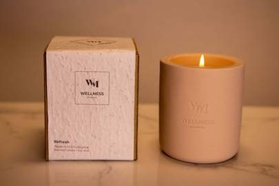 One Wick Refresh Aromatherapy Candle by Wellness by Manuel