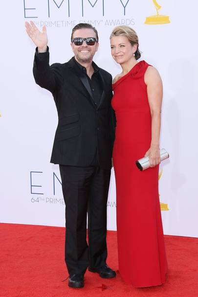 Ricky Gervais & Jane Fallon