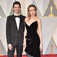 Alex Greenwald and Brie Larson