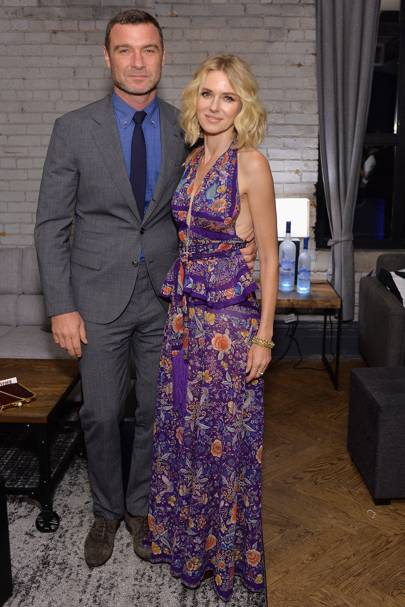 September: Naomi Watts and Liev Schreiber